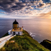 St Abbs Lighthouse Dawn II