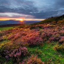 Summer Sunset-Stanage Edge III