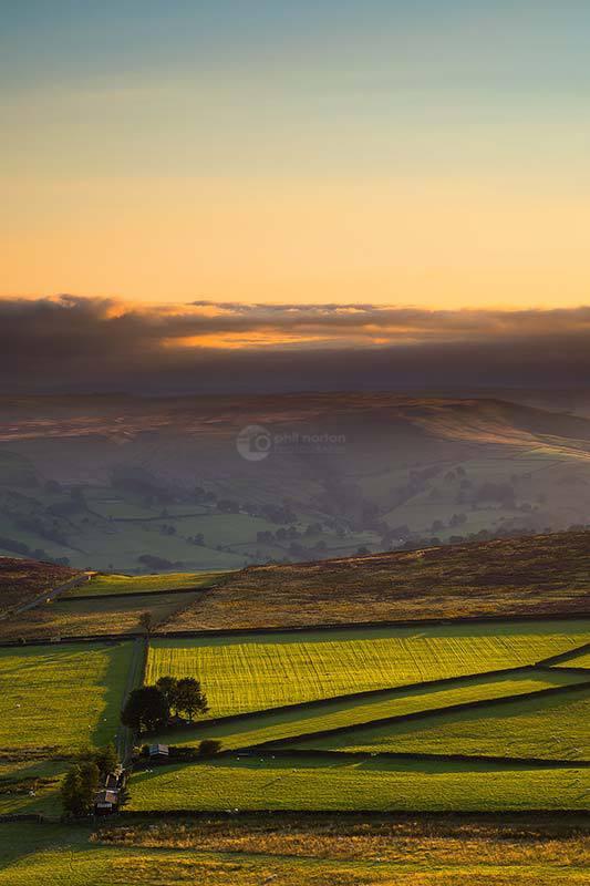 Golden Fields-Stanage Edge