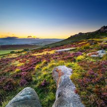Stanage Summer Sunset II