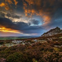 Blazing Sky-Stiperstones