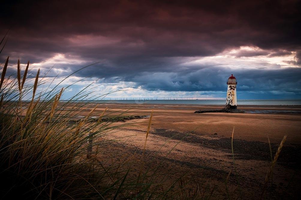 Dusk Over The Lighthouse