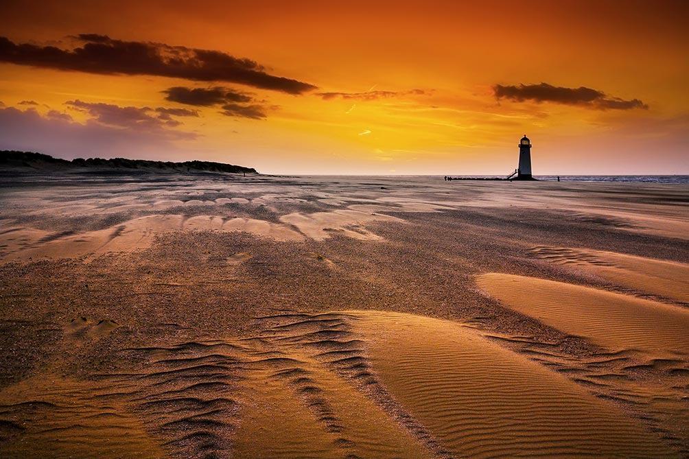Sunrise-Talacre Beach