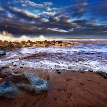 Crashing Waves-Withernsea
