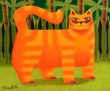 Ginger Cat by Graham Knuttel