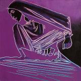 Martha Graham: Lamentation by Andy Warhol