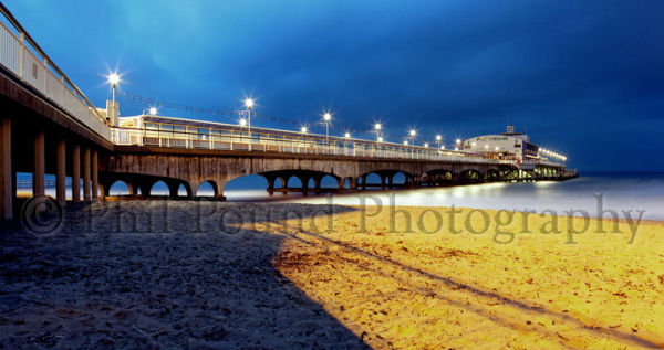Bournemouth Pier at Twilight