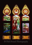 Stained Glass WindowThe Lord is my Shepherd