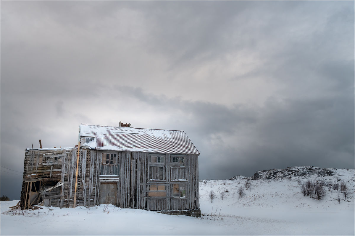 1st Anthony Le Conte, Winter, Disused House In Winter
