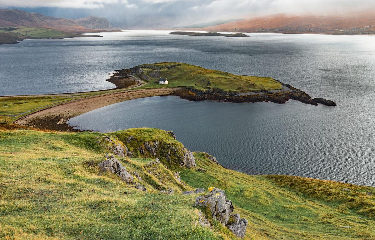 3rd Godfray Guilbert , Coastal Landscape, Loch Eribol