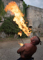 4th Anthony Le Conte ,Smoke Fire, Fire Breather
