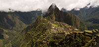 Anthony Le Conte ,Panoramic, Machu Picchu