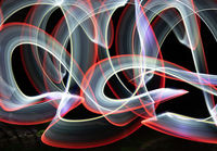 Anthony Le Conte , Patterns, Light Painting