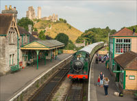 Anthony Le Conte  ,Transport, Steam Train At Corfe