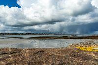 Berni Kerrigan , Coastal Landscape, I Think It Might Rain
