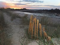Brian Johnson , Coastal Landscape, Dusk In The Dunes