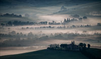 Colour Pictorial Print Honours Anthony Le Conte Tuscan Mist