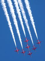 DaveLeP Lines Red Arrows