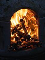 David Le Prevost LRPS,Smoke Fire, Amber Glow