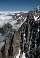 David Le Prevost LRPS Panoramic, View From Mont Blanc