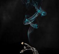 Derek Bridel AFIAP, BPE2,Smoke Fire, Spent