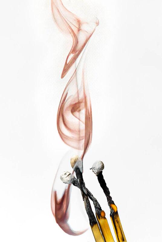 Derek Bridel AFIAP, BPE2, Smoke and Fire, Wafting Smoke