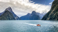 Derek Bridel AFIAP, BPE2, Coastal Landscape, Milfor Sound, Nz