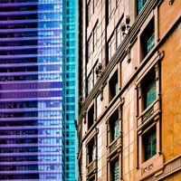 Derek Bridel AFIAP, BPE2 Open(Square Format) Building Blocks