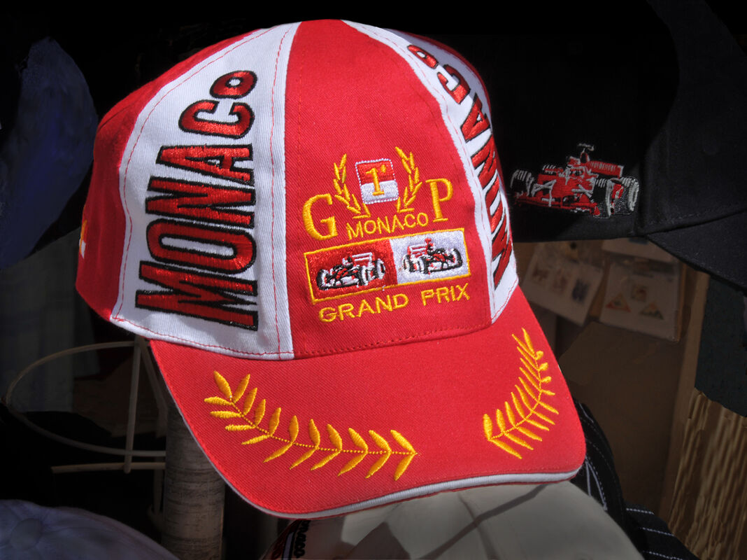 Derek Tostevin DPAGB, BPE1,Red-any shade, At Monaco Grand Prix