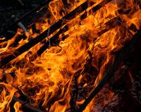 Godfray Guilbert ,Smoke Fire, Bonfire