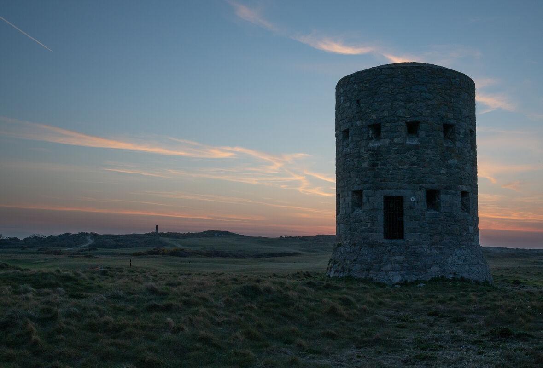 John Johnson ,Fortifications, L'ancresse Sunset