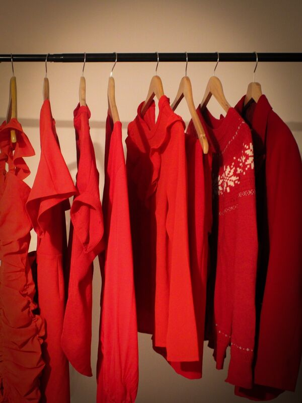 Julian Mamabolo ,Red-any shade, Nothing To Wear