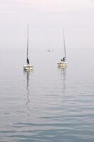 Martyn Elliston LRPS,Minimal, Sailing Dingies