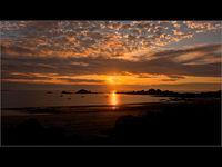 Martyn Elliston  ,Open, Grandes Rocques Sunset