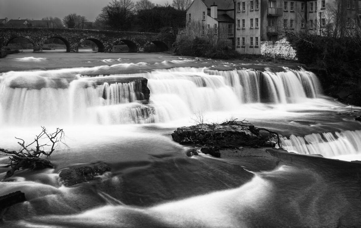 Nigel Byrom ,Annual Mono Print, The Falls