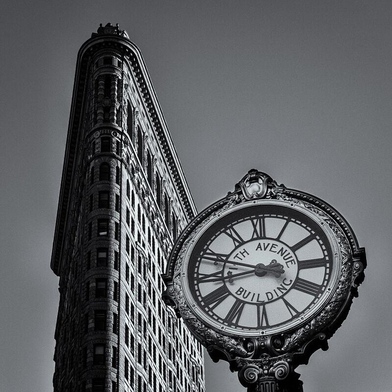 Nigel Byrom ,Time Pieces, Fifth Avenue Sidewalk Clock