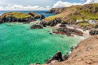Nigel Byrom , Coastal Landscape, Cornish Cove