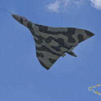 Vulcan XH558 on its V Force Tour