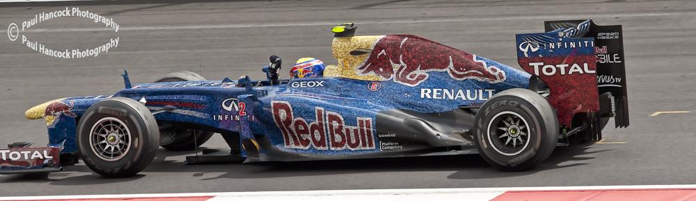 British GP 2012 Mark Webber / RBR