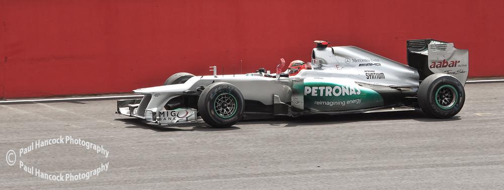 British GP 2012 Michael Schumacher / Mercedes