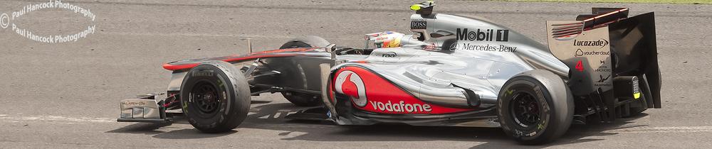 British GP 2012  Lewis Hamilton / McLaren
