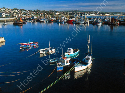 Newlyn Harbour.
