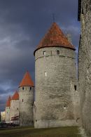 City Walls, Tallinn, Estonia.