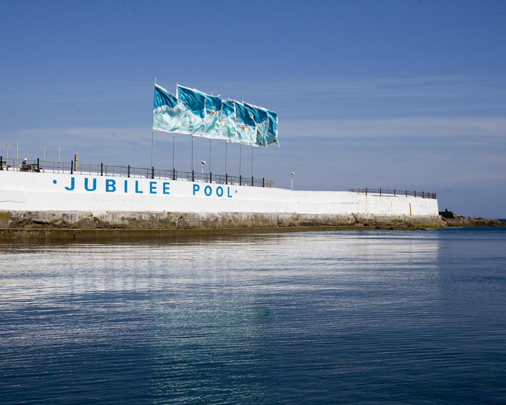 Jubilee Pool, Penzance's famous Art Deco lido.