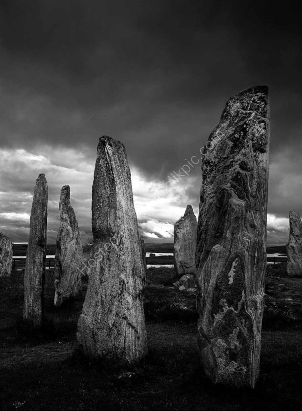 Stone Circle: Callanish, Lewis, Scotland. Limited Edition Giclée print.