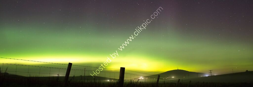 Northern Lights, Shetland, UK.
