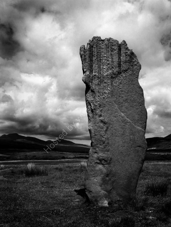 Standing Stone: Machrie Moor, Arran. Limited Edition Giclée print.