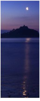 Nightscape: St. Michael's Mount no.3. Limited edition Giclée print.