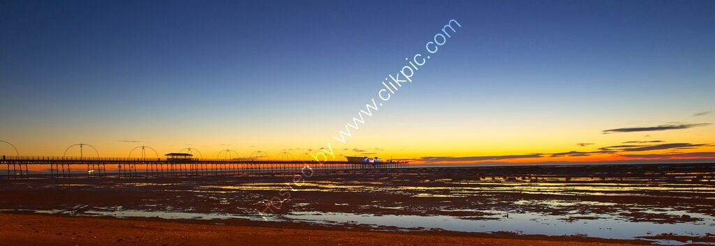 """Sunset, Southport Pier #2"""