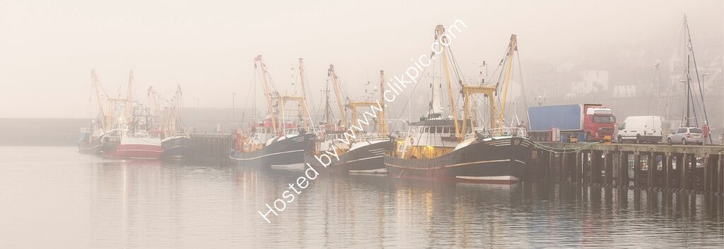 """""""Newlyn harbour, misty morning"""""""